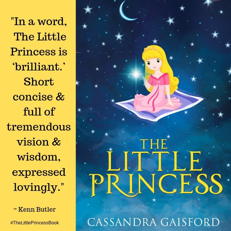 thankQ for the PDF copy of your little princes book this morning. In a word, 'brilliant', short concise & full of tremendous vision & wisdom, expressed lovingly. I have enjoy the read this evening on my couch relaxin