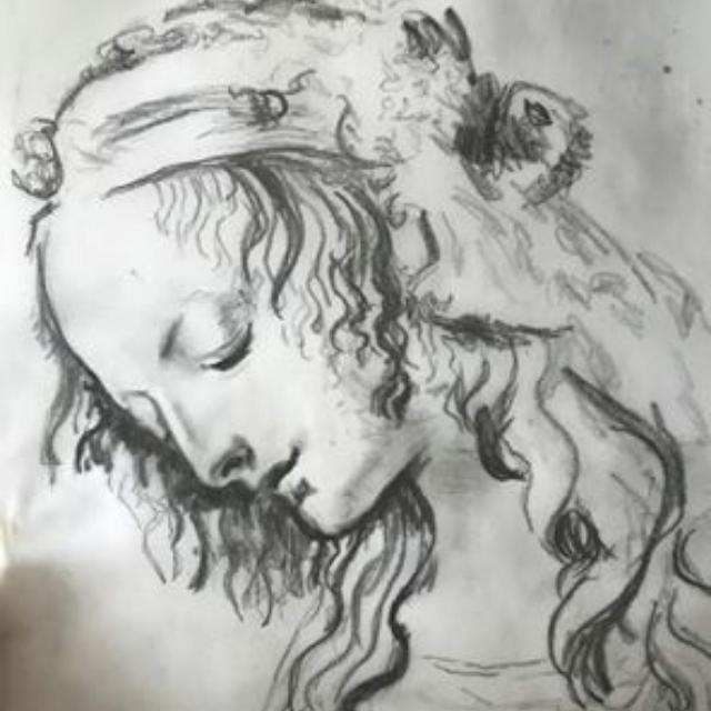 Leonardo Sketch instagram template