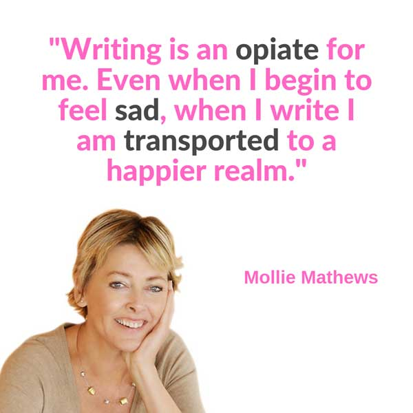 An Interview With Mollie Mathews on Writing Every Day and The Inspiration Behind Her Stories